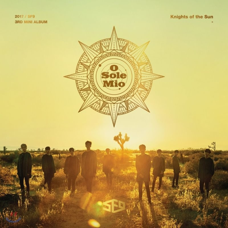에스에프나인 (SF9) - 미니앨범 3집 : Knights of the Sun
