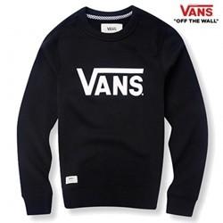 [반스] E 남성 베이직 프린팅 맨투맨 티셔츠 VN0A33VI_BLK