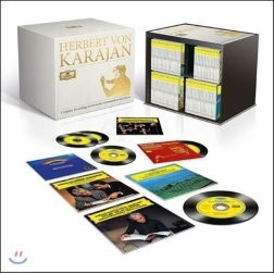Herbert von Karajan 카라얀 DG 녹음 전곡집 (Complete Recordings on Deutsche Grammophon & Decca)