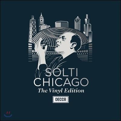 게오르그 솔티 & 시카고 심포니 바이닐 에디션 (Georg Solti & Chicago - The Vinyl Edition) [6LP 넘버링 한정반]