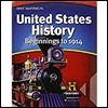 Holt Mcdougal United States History : Beginnings To 1914 (Middle School) : Student Edition (2012)