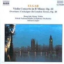 강동석, Adrian Leaper - Elgar : Violin Concerto (수입/8550489)
