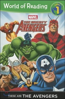 World of Reading Level 1 : These are The Avengers