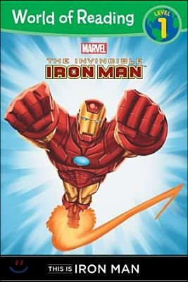 World of Reading Level 1 : This is Iron Man