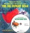 [��ο�] The Big Hungry Bear (Board Book & CD Set)