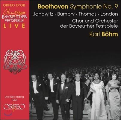 Karl Bohm 베토벤: 교향곡 9번 '합창' (Beethoven: Symphony Op.125 'Choral')