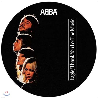 Abba (아바) - Eagle / Thank You For The Music [픽쳐디스크 LP]
