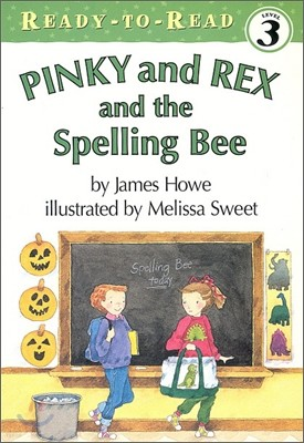 Ready-To-Read Level 3 : Pinky and Rex and the Spelling Bee (Book + Audio CD)