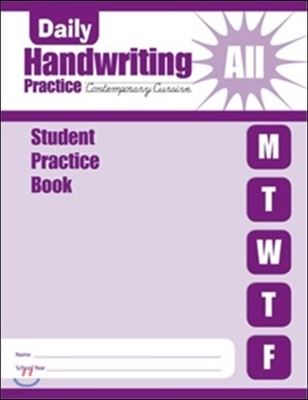 Daily Handwriting : Contemporary Cursive S/B