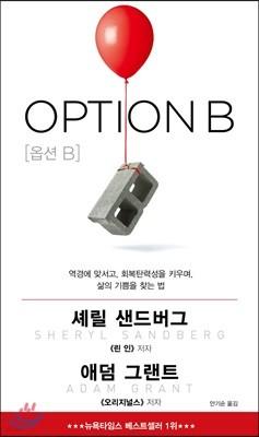 [예약판매] OPTION B 옵션 B