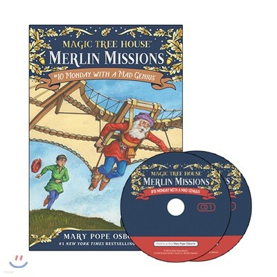 Merlin Mission #10 : Monday with a Mad Genius (Book + CD)