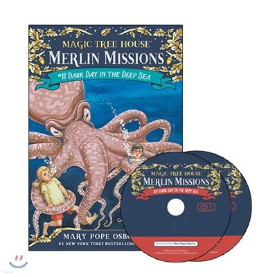 Merlin Mission #11 : Dark Day in the Deep Sea (Book + CD)