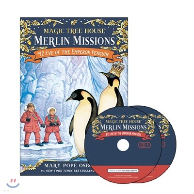Merlin Mission #12 : Eve of the Emperor Penguin (Book + CD)