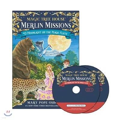Merlin Mission #13 : Moonlight on the Magic Flute (Book + CD)