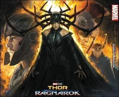 Marvel's Thor : Ragnarok : The Art of the Movie 영화 '토르 : 라그나로크' 공식 컨셉 아트북