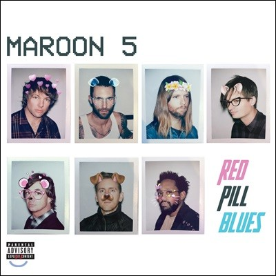 Maroon 5 - RED PILL BLUES 마룬 파이브 6집 [Standard Version]