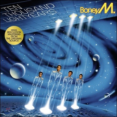 Boney M. (보니 엠) - 10.000 Lightyears (1984) [LP]
