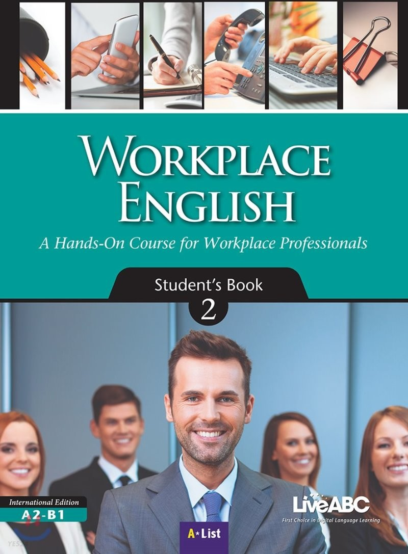 Workplace English 2 : Student Book with DVD-ROM & MP3