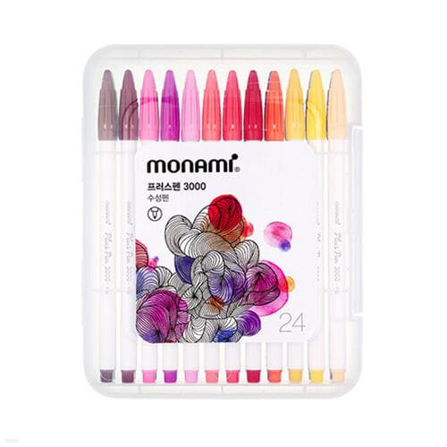 모나미 플러스펜 24 Plus Pen 3000 (PP:24C)