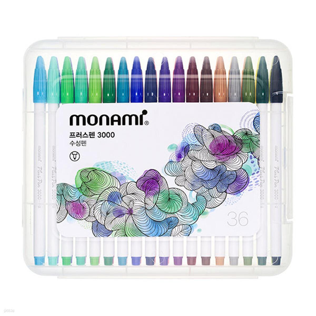 모나미 플러스펜 36 Plus Pen 3000 (PP:36C)