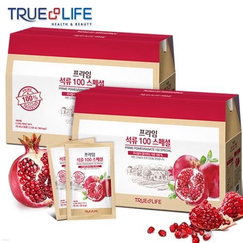 트루앤라이프 프라임 석류 100 스페셜 x 2박스 (60포)