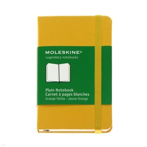 몰스킨 XS 플레인 노트북 / 오렌지 옐로
