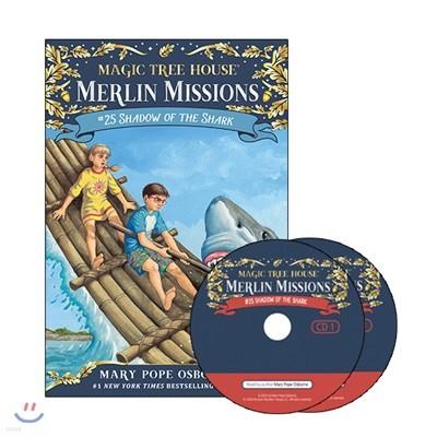 Merlin Mission #25 : Shadow of the Shark (PB+CD)