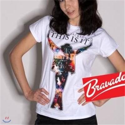 마이클잭슨 Michael Jackson - Movie Collage 31611200 여성용 티셔츠