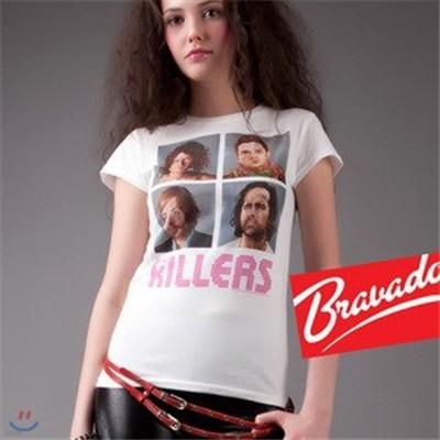 킬러스 THE KILLERS - day n age headshot 30061202 여성용 티셔츠