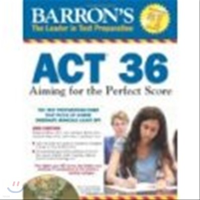 Barron's ACT 36 with CD-ROM