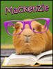 MacKenzie: Personalized Journal, Notebook, Diary, 105 Lined Pages, Large Size Book 8 1/2 X 11