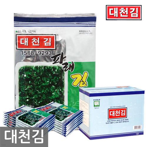 [우체국 직송/무료배송] 대천김 조미구이 파래김 25봉