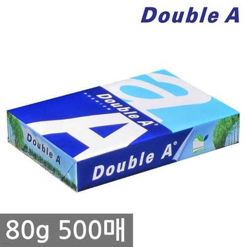 더블에이 A4 복사용지(A4용지) 80g 500매 1권