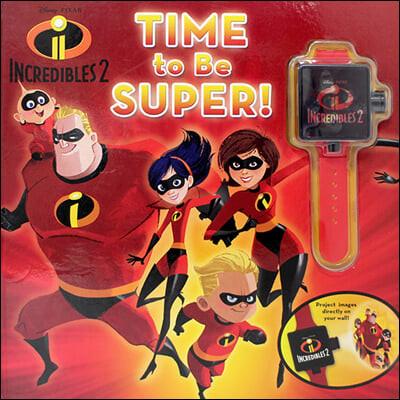 [스크래치 특가]Disney Pixar Incredibles 2: Time to Be Super!