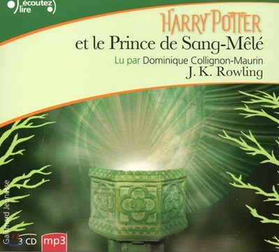 Harry Potter 6. CD MP3 (Triple CD MP3)