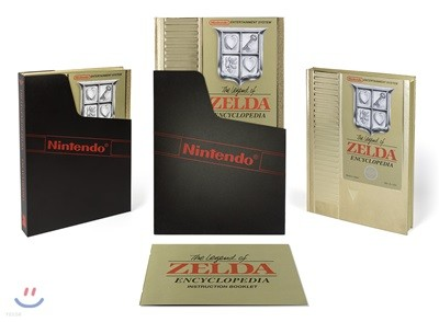 The Legend of Zelda Encyclopedia Deluxe Edition '젤다의 전설' 백과사전 디럭스 에디션