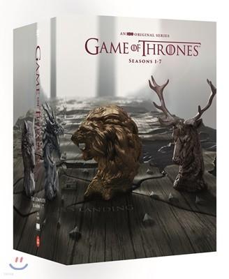 왕좌의게임 시즌1-7 박스 (34Disc)