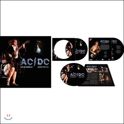 AC/DC (에이씨 디씨) - Live In Nashville August 8th 1978 [LP]