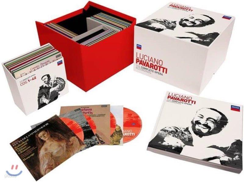 루치아노 파바로티 오페라 앨범 전집 (Luciano Pavarotti The Complete Operas)