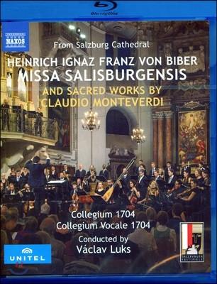 Collegium 1704 / Vaclav Luks 하인리히 비버: 미사 살리스부르겐시스 / 몬테베르디: 시 편송 (Biber: Missa Salisburgensis)