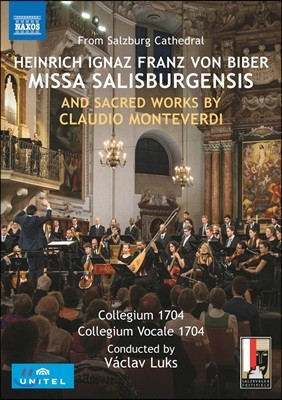 Collegium 1704 / Vaclav Luks 하인리히 비버: 미사 살리스부르겐시스 / 몬테베르디: 시편송 (Biber: Missa Salisburgensis)