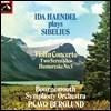Ida Haendel 시벨리우스: 바이올린 협주곡, 세레나데 (Sibelius: Violin Concerto) [LP]
