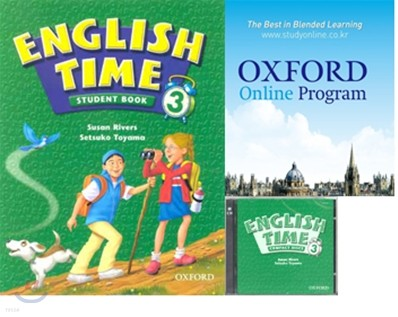 English Time 3 Set : Student Book + Oxford English Online + Audio CD