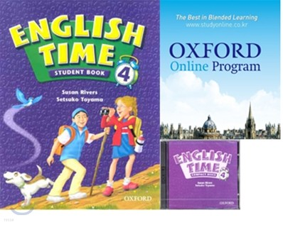 English Time 4 Set : Student Book + Oxford English Online + Audio CD