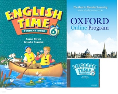 English Time 6 Set : Student Book + Oxford English Online + Audio CD