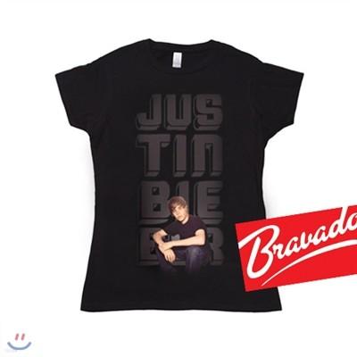저스틴 비버 JUSTIN BIEBER  glow photo 31582201 여성용 티셔츠
