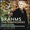 Simon Rattle 브람스: 교향곡 전곡집 - 사이먼 래틀, 베를린필 (Brahms: The Complete Symphonies)