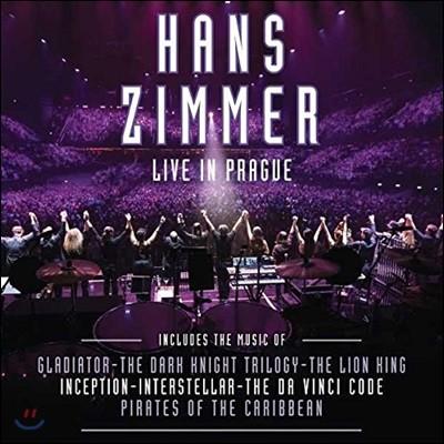 Hans Zimmer - Live In Prague 한스 짐머 프라하 라이브 [4 LP]