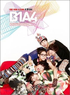 B1A4 - 2nd Special 미니앨범 : it B1A4