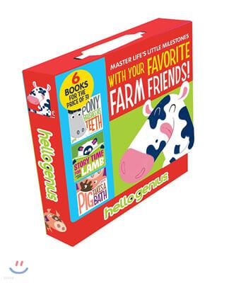 Hello Genius Favorite Farm Friends Box